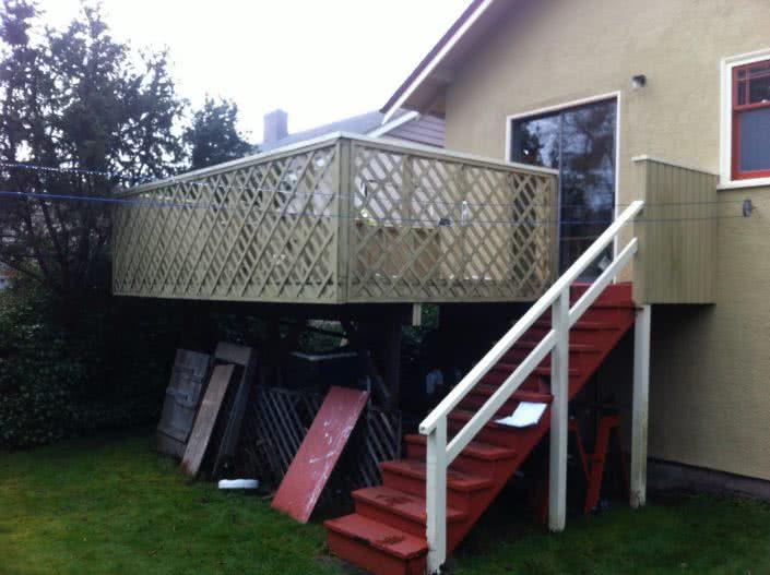 Oak Bay Deck and Doors